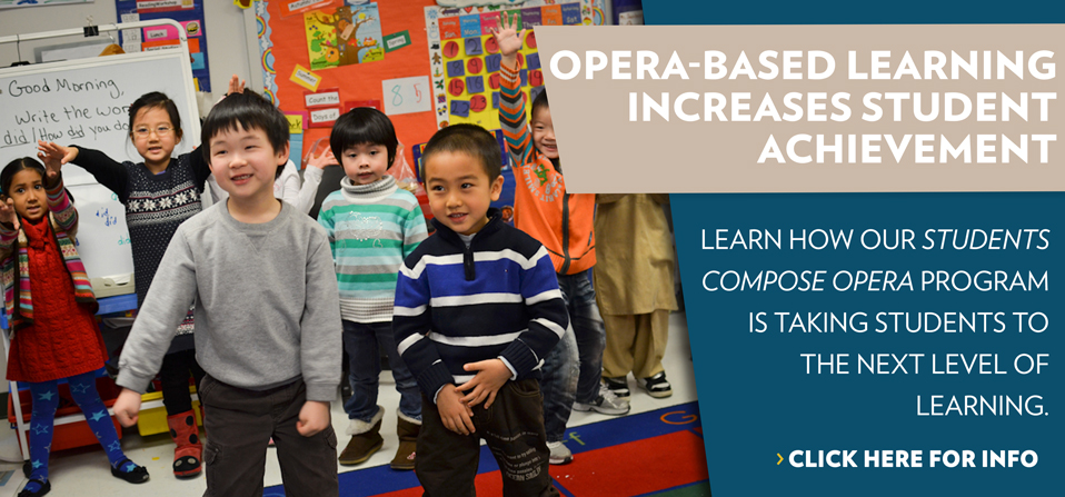 Learn how our Student's Compose Opera program Is Taking Students to the Next level of Learning.
